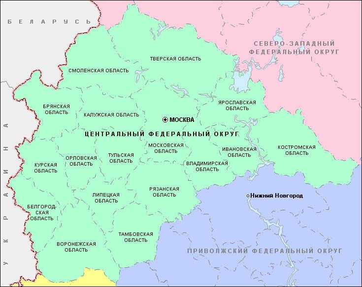 с Казино - карта, Липецкая